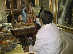 Vittorio Vallarin, Cusin - foto in studio
