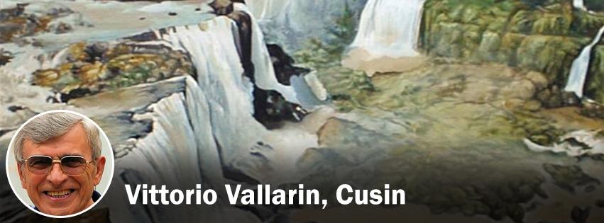 Vittorio Vallarin, Cusin - profilo Facebook